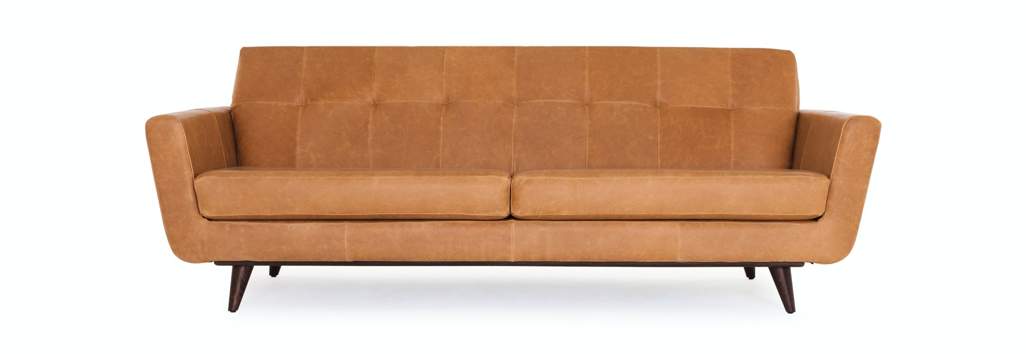 Hughes Leather Sofa Joybird