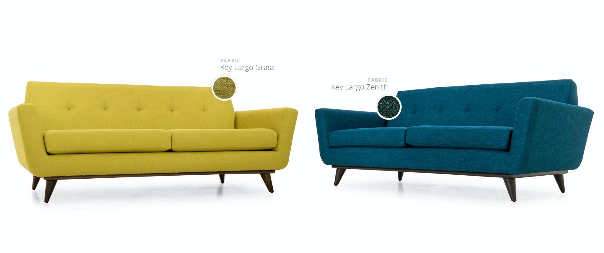 sofa elm loveseat mid media stella west century petite canada