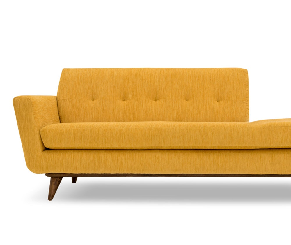 lounge act - Chaise Orange