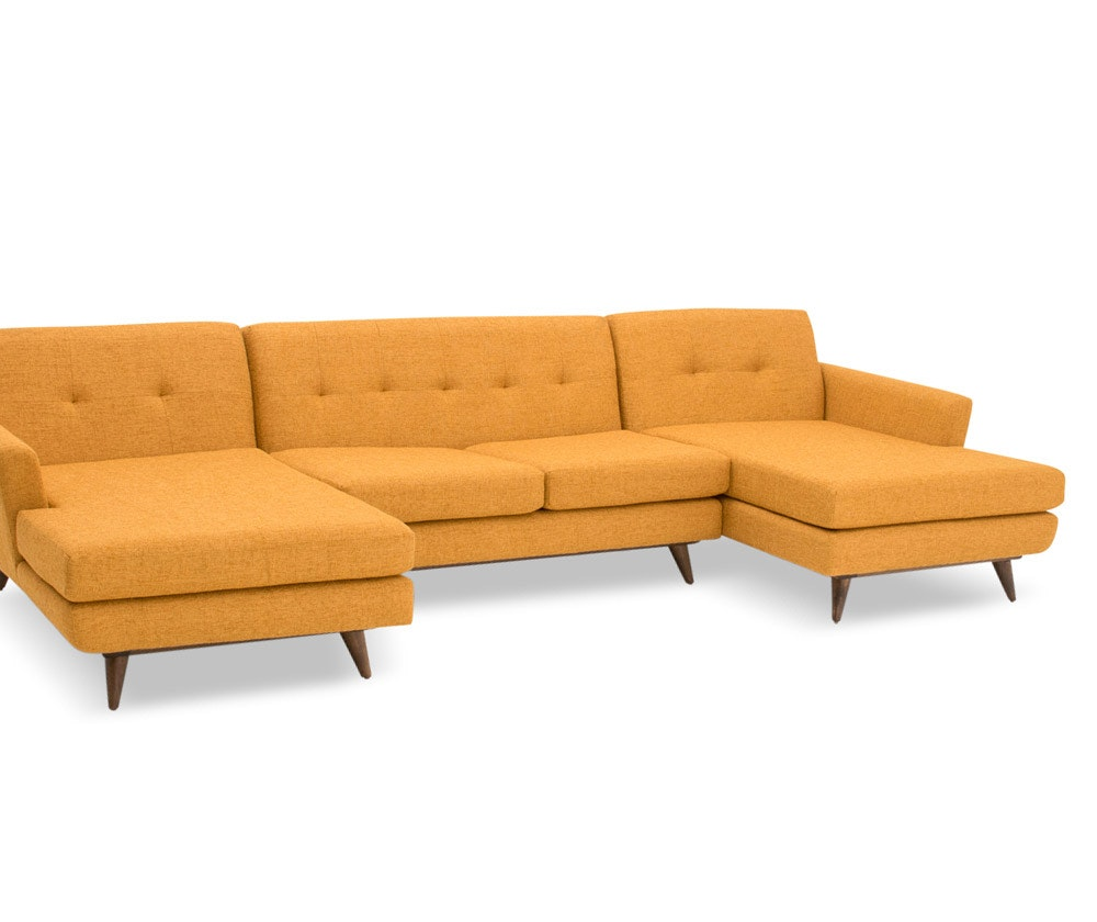 Hughes U Chaise Sectional Joybird