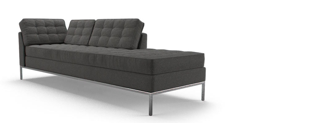 franklin bumper chaise joybird. Black Bedroom Furniture Sets. Home Design Ideas