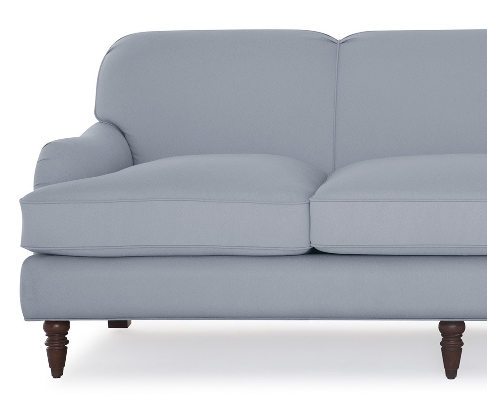 Overstuffed sofa - Overstuffed Not Stuffy