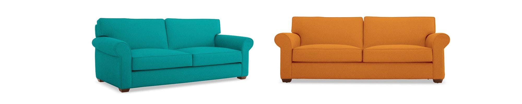 Leo Leather Sofa Joybird