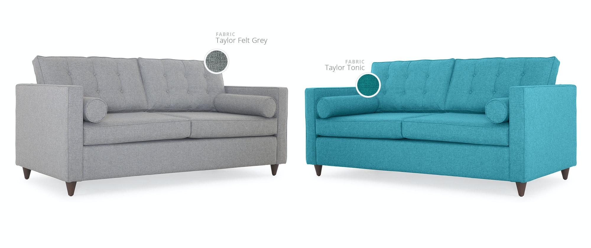 Teal Sleeper Sofa Teal Queen Sleeper Sofa Set Ava Bed 7366