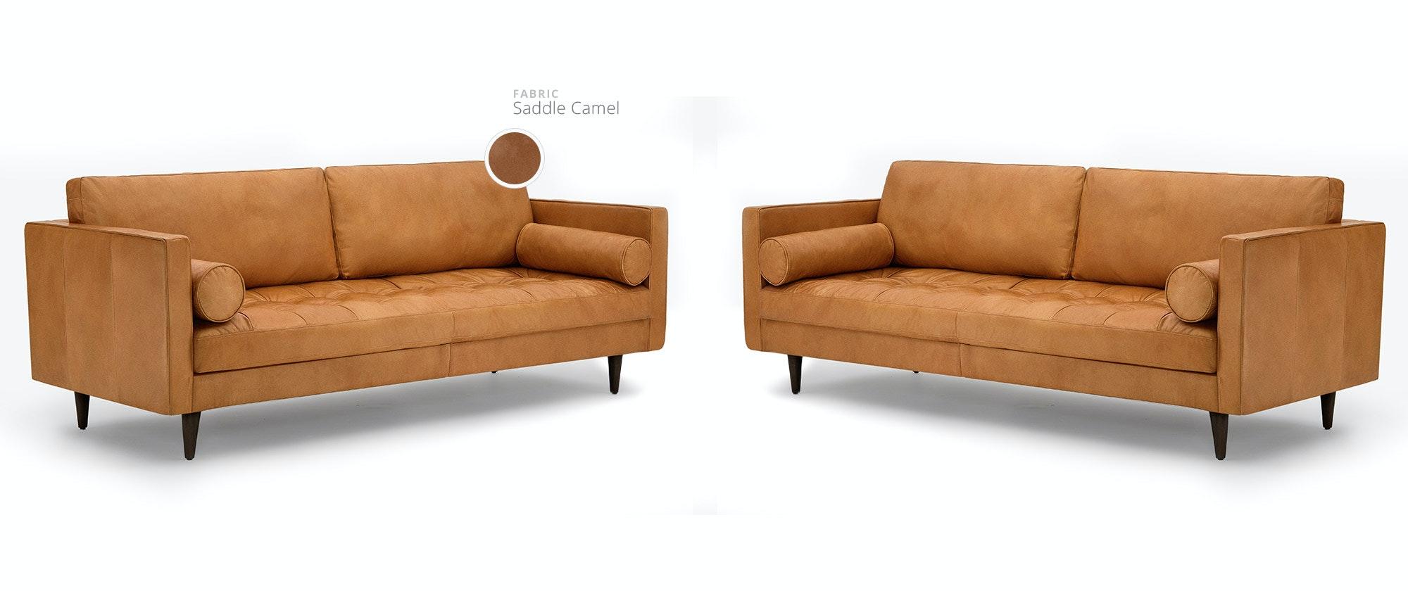 Camel Leather Sofa Leather Camel Back Sofa Foter Thesofa