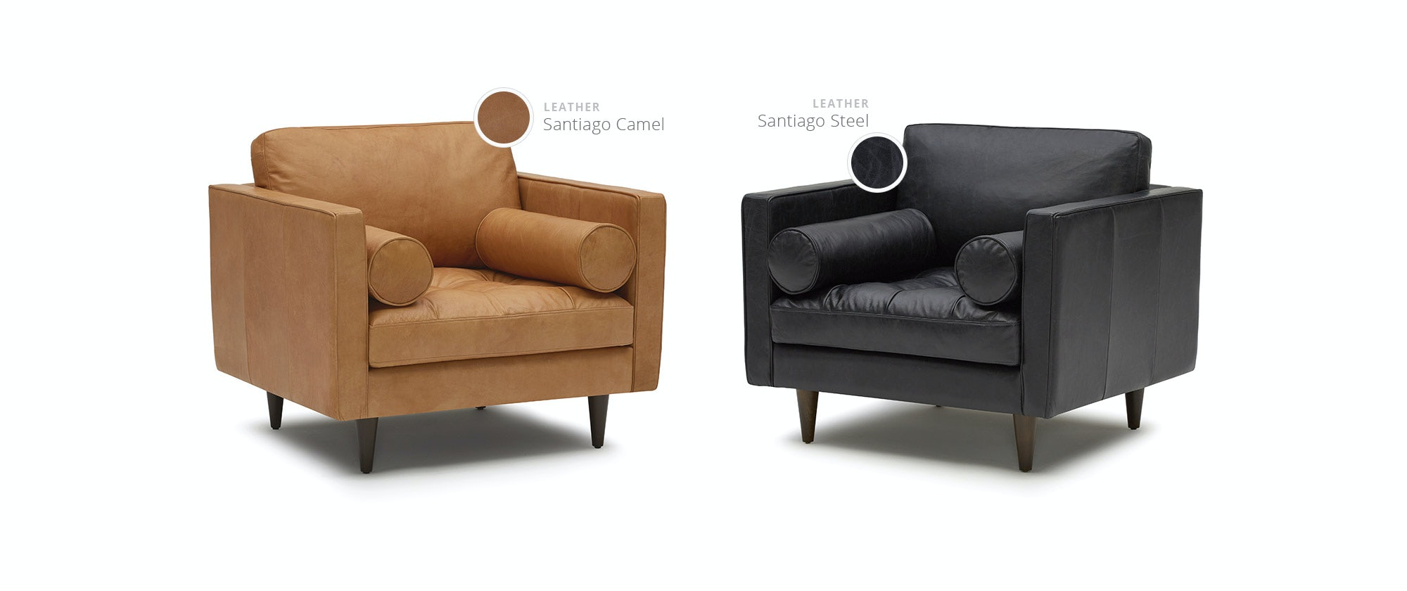 Awe Inspiring Briar Leather Chair Evergreenethics Interior Chair Design Evergreenethicsorg