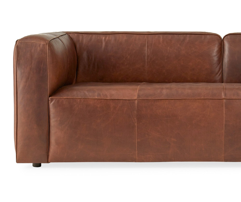 Logan Leather Sofa Joybird