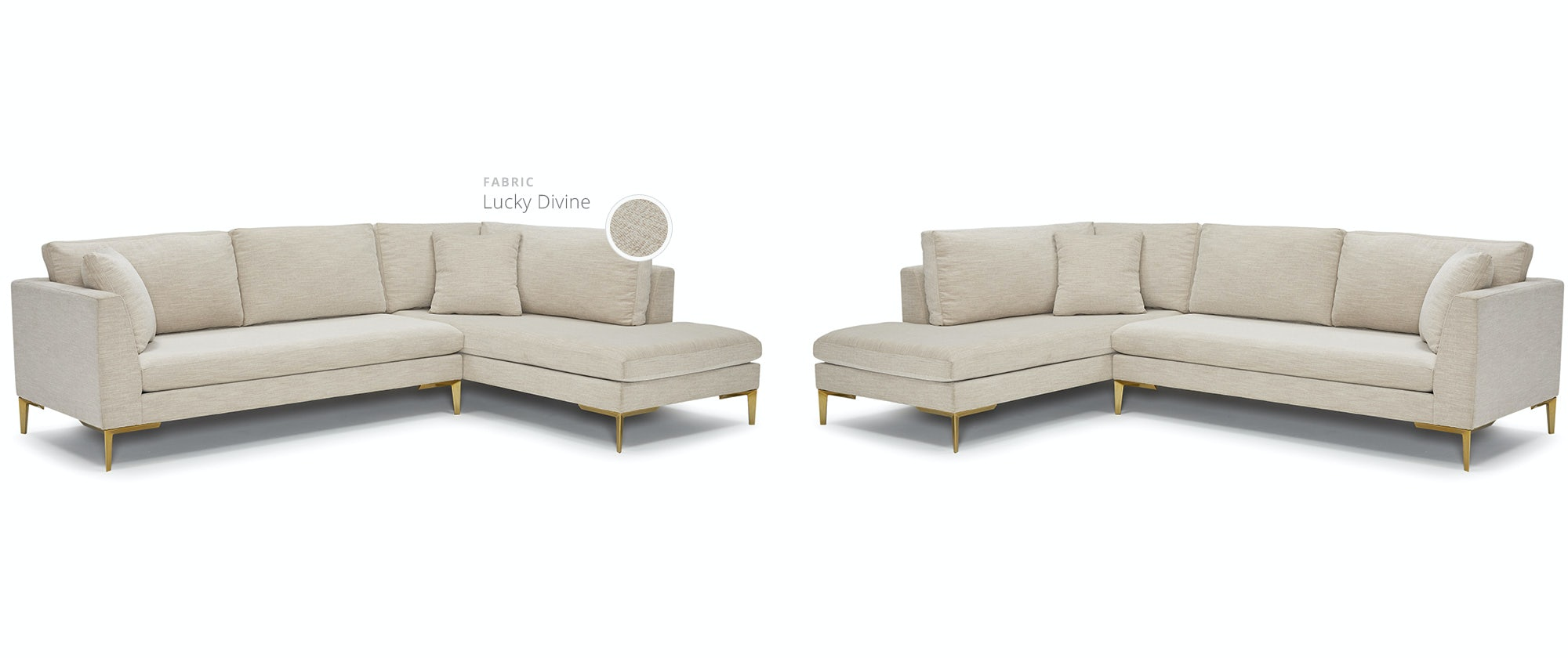Ainsley Sectional With Bumper Joybird