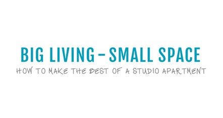 Big Living-Small Spaces