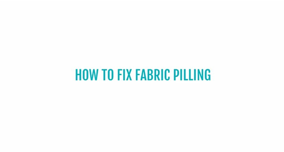 Tips And Tricks How To Fix Fabric Pilling By Joybird Furniture