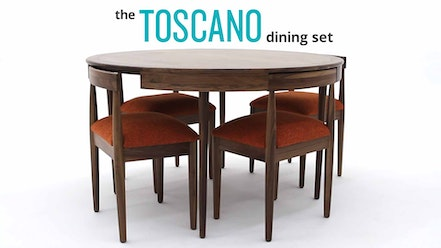 Toscano Dining Set by Joybird Furniture