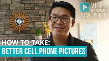 Better Cell Phone Photos by Joybird Furniture