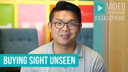 Buying Sight Unseen