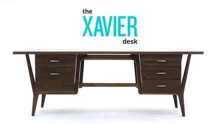 Xavier Desk by Joybird Furniture
