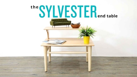 Sylvester End Table by Joybird Furniture